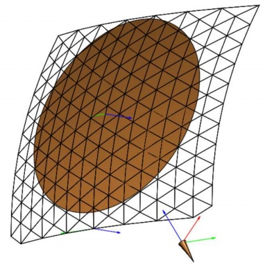 Large Mesh Reflectors with Improved Pattern Performances, ESA Antenna Workshop (2016)
